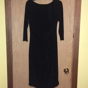 Sophisticated Lauren Ralph Lauren Black Dress
